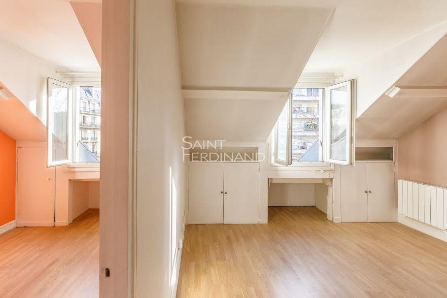 Vente appartement 2 pièces 26.75 m² à Paris 17ème (75017), 365 000 €