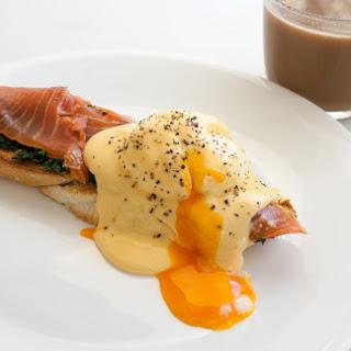 Eggs Atlantic with a Florentine Twist