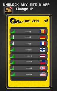 Hot VPN Pro – HAM Paid VPN Private Network v1.2 [Paid] 3