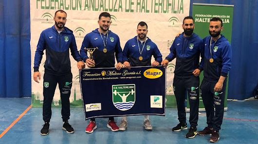 Halterejido sube al podio en el Campeonato de Andalucía