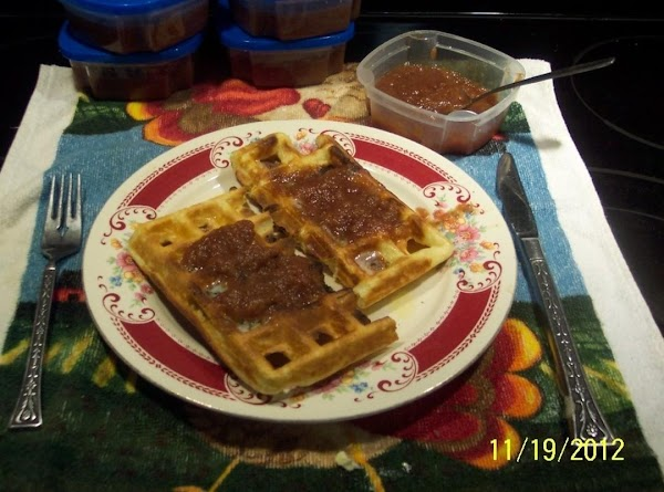 Bake in your Belgin  waffle maker according to your waffle baker directions.