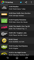 Screenshot of TVCatchup