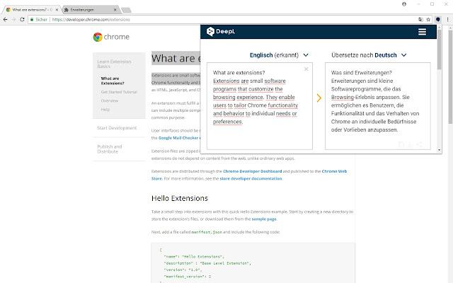 DeepL Translator - Chrome Web Store
