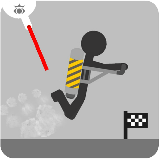 Stickman fly flight 街機 App LOGO-硬是要APP
