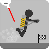 Stickman fly flight