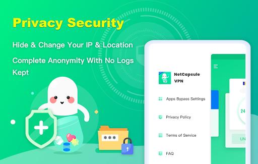 NetCapsule VPN   Free VPN Proxy, Fast VPN, Unblock screenshot 10