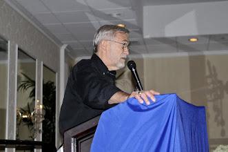 Photo: Ray McGovern introduced keynote speaker Seymour Hersh