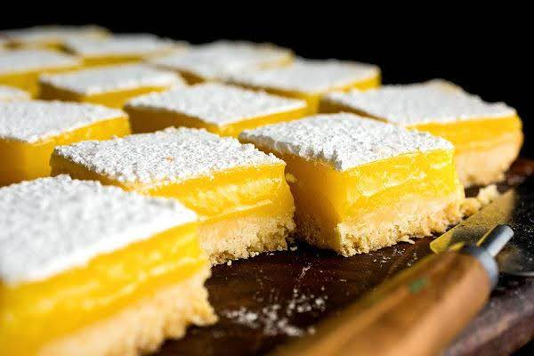 Lemon Bars With Olive Oil And Sea Salt Recipe
