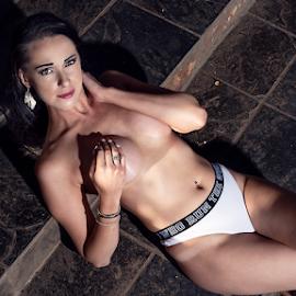 Miss S by Gerrit de Graaff - Nudes & Boudoir Boudoir ( nikon, photooftheday, beautiful, lingerie, beauty, sexy, boobs, girl, naughty, eyes, photography )
