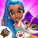 Power Girls Super City - Superhero Salon & Pets icon