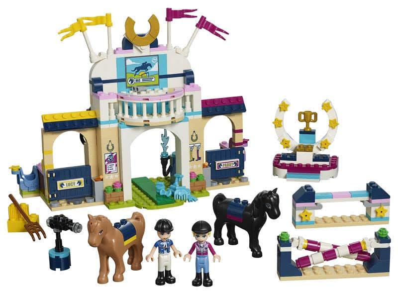 Contenido de Lego® 41367 Concurso de Saltos de Stephanie