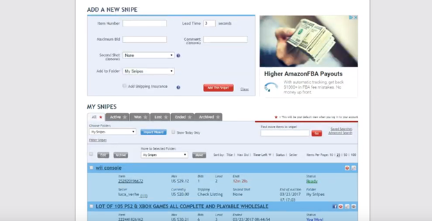 Auction Sniper Make Your Ebay Bidding Win Win