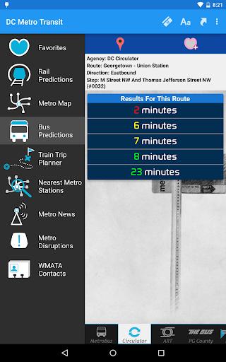 DC Metro Transit Info - Free screenshot 20