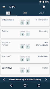 Bolivia Football League (LFPB) - Scores & Results - náhled