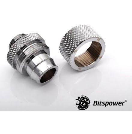 """Bitspower kompresjonsnippel, 1/4""""BSPx1/2""""ID-5/8""""OD"""