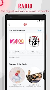 iHeartRadio - Free Music, Radio & Podcasts Screenshot