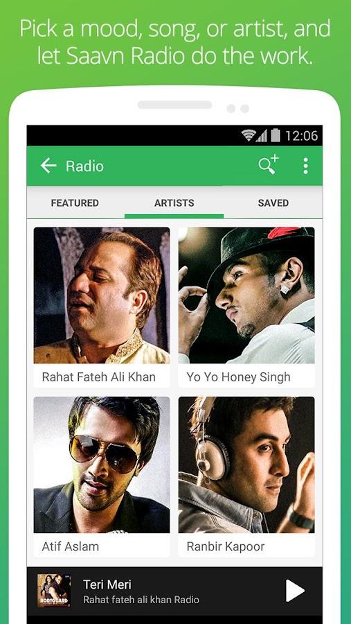 Saavn Music & Radio - screenshot