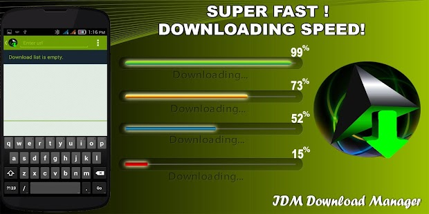IDM+ Download Manager free- screenshot thumbnail