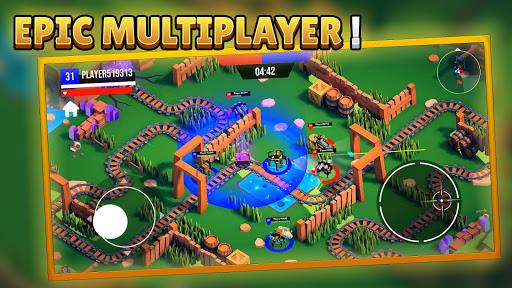 Code Triche Boom Robots! - Ground Battles Multiplayer Robots mod apk screenshots 2