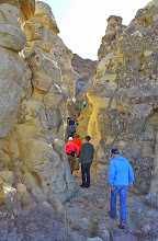 Photo: Slot canyon on way up to Hole in the Wall