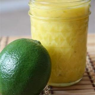 Homemade Lime Curd.