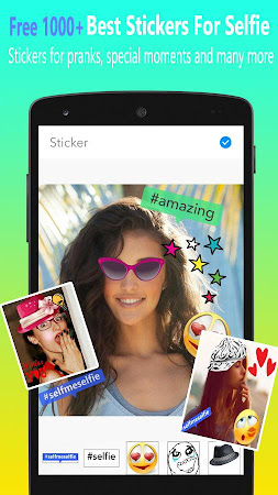 SelfMe Selfie Camera & Sticker 1.1.4 screenshot 489780