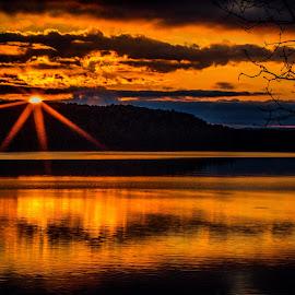 SUNSET by Jennifer  Loper  - Landscapes Sunsets & Sunrises