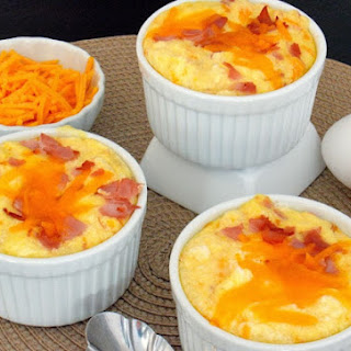 Ham and Cheddar Souffles and Myths about Souffles Debunked