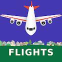 Flight Information : All Airports Flightboard icon