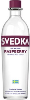 Svedka Vodka - Raspberry, 1l