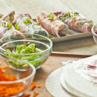 Rice Paper Wraps Healthy Recipes.