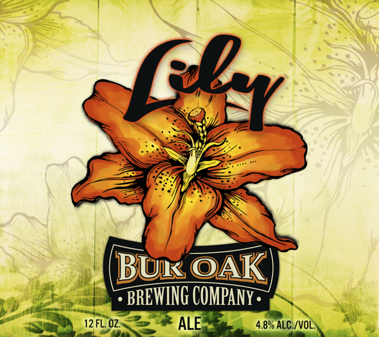 Logo of Bur Oak Lily Ale