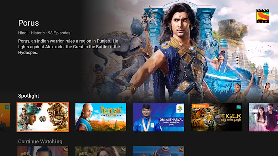 SonyLIV - TV Shows, Movies & Live Sports Online TV - Apps on