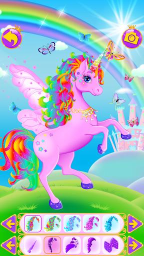 Unicorn Dress Up - Girls Games 1.0.4 screenshots 9