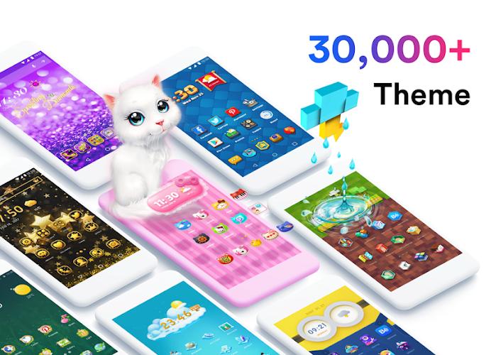 Air Launcher - Theme & 3D Wallpaper, Fast Android App Screenshot