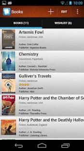 App Book Manager Bookshelf ISBN Scanner Library List APK for Windows
