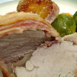 An Elegant Pork Roast With Sage