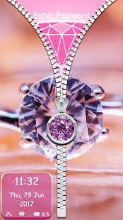 Diamanty Tapety na Zamek Obrazovky Zip - náhled