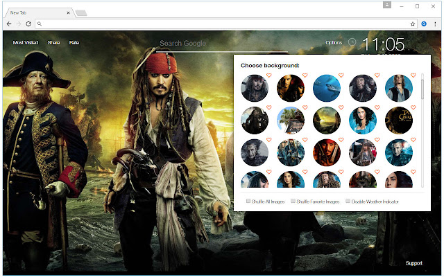 Pirates Of The Caribbean Wallpapers HD NewTab