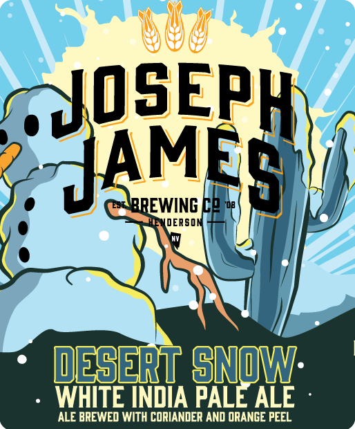 Logo of Joseph James Desert Snow White IPA