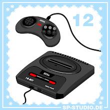 Photo: Sega Mega Drive (Genesis)