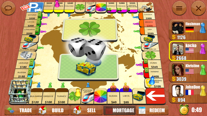 Rento - Dice Board Game Online Android App Screenshot