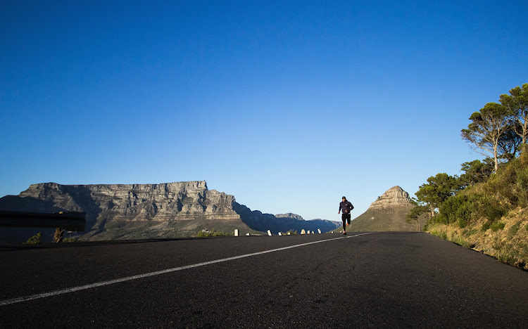 There is no shortage of beautiful running routes in Cape Town.