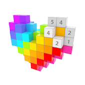 Voxel - 3D Color by Number & Pixel Coloring Book Icon