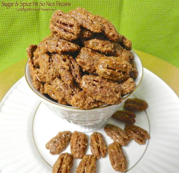 Sugar & Spice I'm So Nice Pecans Recipe