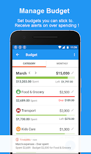 App Bills Reminder, Budget & Expense Manager App APK for Windows Phone
