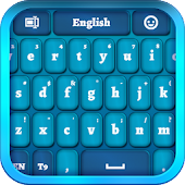 Blue Keyboard for Smartphone