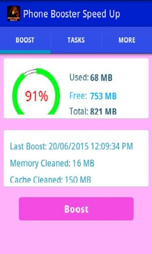 Phone Booster Speed up