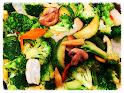 Mixed Vegetables in Garlic Sauce