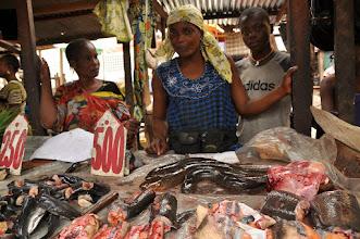 Photo: fish stall